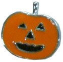 "3/8"" (10mm) Halloween Slider Charms Pumpkin 3/8"" (10mm)"