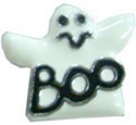 "3/8"" (10mm) Halloween Slider Charms Ghost 3/8"" (10mm)"