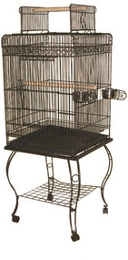 Shop our wrought iron bird cages.