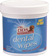 Keep your pups pearly whites clean and fresh with 8in1 DDS Dental Wipes - Shop today!