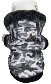 You'll love this adorable dog parka!