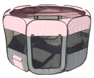 Shop now and save big on this portable pet playpen for your dog and put that heavy metal dog crate away.
