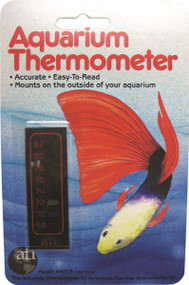 Liquid Crystal Vertical Aquarium Thermometer 1