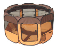 Buy online and save with this lightweight portable pet playpen, good for everyday use or when traveling with your dog.