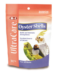 Shop for our Oyster Shells, essential for your bird to sustain strong bones, cartilage, and firm egg shells.