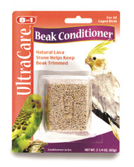 Keep your feathered friend entertained, while keeping beak trimmed with our beak conditioner.