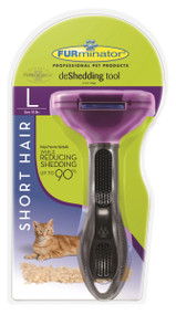 Furminator Short Hair Cat Deshedding Tool, Large
