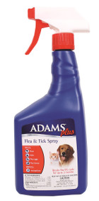 Adams Plus Flea & Tick Mist for Dogs & Cats, 32 ounces