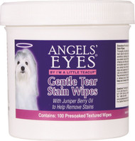 Angels  Eyes Gentle Tear Stain Wipes For Dogs