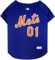 New York Mets Baseball Dog Jersey