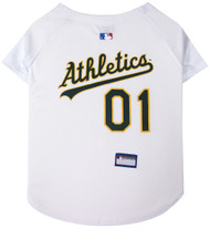 Oakland A's Baseball Dog Jersey