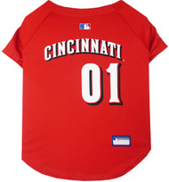 Cincinnati Reds Baseball Dog Jersey