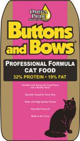 Buttons And Bows Cat Food - Chicken, 40 Pound Bag
