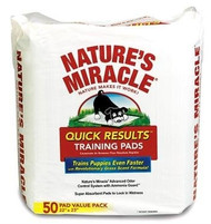 Natures Miracle Quick Results Training Pads - 50 Count