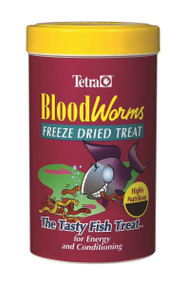 Blood Worms Freeze Dried Food