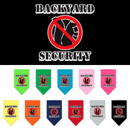 Backyard security bandanas for dogs!