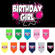 Get a birthday girl dog scarf for your pup!