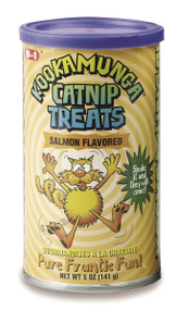 Shop our cat treats, your cat will find Kookamunga Crunchy Catnip Treats irresistible!