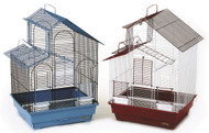 House Style Bird Cage, Assorted - 2 Pack
