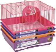 1 Story Gerbil & Hamster Cage, Assorted - 4 Pack
