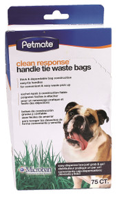 Clean Response On-The-Go Handle Tie Waste Bags 1