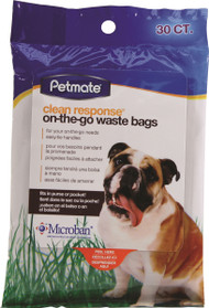 Clean Response On-The-Go Handle Tie Waste Bags
