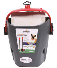 Clean Response Swivel Bin & Rake