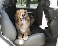Black Universal Waterproof Back Seat Cover By Majestic Pet Products