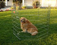 """24"""" Exercise Pen By Majestic Pet Products-Small"""