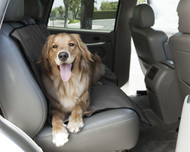 Grey Universal Waterproof Back Seat Cover By Majestic Pet Products