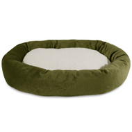 "24"" Fern Villa Collection Sherpa Bagel Bed"