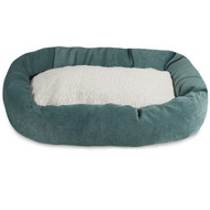 Wow, great beds at low prices with wonderful colors to match any home decor and your dog will love the soft Sherpa center cushion!