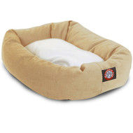 "24"" Sherpa Bagel Bed By Majestic Pet Products"