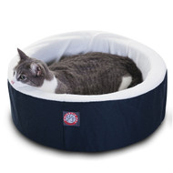 "16"" Blue Cat Cuddler Pet Bed By Majestic Pet Products"