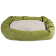 Shop for the best bagel style dog bed on the market with colors that will match any home decor and confort that your dog will love!