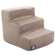 3 Step Stone Suede Pet Stairs By Majestic Pet Products