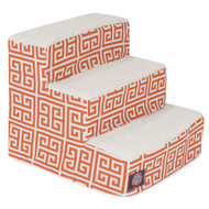 3 Step Orange Towers Pet Stairs By Majestic Pet Products