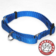 14in - 20in Martingale Blue, 40 - 120 Lbs Dog By Majestic Pet Products