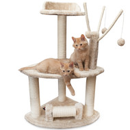 This is the best cat tree for an energetic kitty.