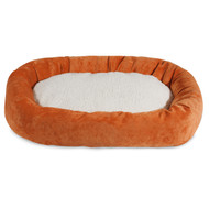 Colorful, easy to clean dog bed for your home decor while providing a soft, comfy resting place for your best friend!