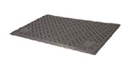 Purr-Fect Paws Litter Mat, Large, 24 x 30 inch, Grey