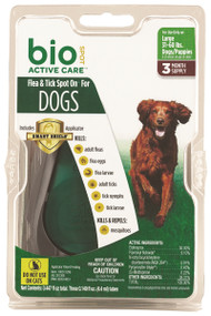 Bio Spot Active Care Flea&Tick Spot Dog With Appl 1