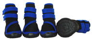 Performance-Coned Premium Stretch Supportive Pet Shoes - Set Of 4 - Blue