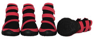 Performance-Coned Premium Stretch Supportive Pet Shoes - Set Of 4 - Pink