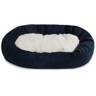 Shop for the best bagel beds on the market with colors to match any home decor. You'll love the easy care and your dog will love the comfort!