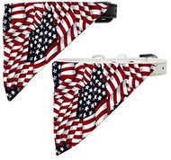Shop now for America the Beautiful Bandana Pet Collar and make your puppy the most patriotic dog this season!