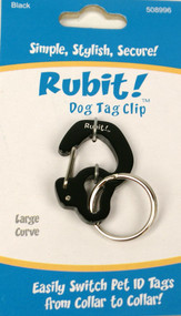 Rubit! Curve Dog Tag Clip - Free Shipping