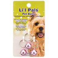 With Lil Pals Pink Pet Bells, you know exactly where your small pet is at all times.