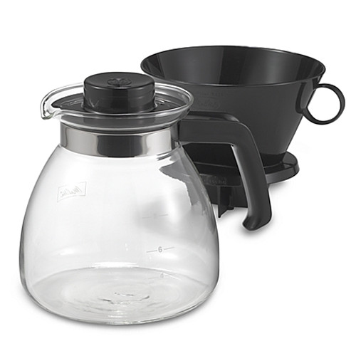 Melitta® Pour Over 10-Cup Coffee Maker with Glass Carafe