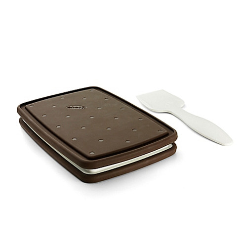 Chef'n® Sweet Spot Ice Cream Sandwich Maker in Brown/White